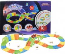 Гибкий трек 1 Toy Большое путешествие 181 дет светящийся