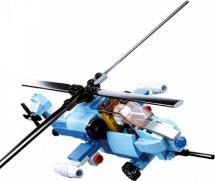 Конструктор Sluban Армия. Истребитель 6в1 Вертолет-штурмовик 129 деталей