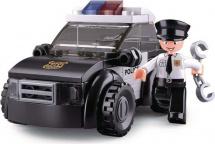 Конструктор Sluban Полиция. Патрульный автомобиль 88 деталей