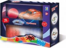 Гибкий трек 1 Toy Мегаполис Мини-набор 70 дет светящийся