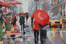 Картина по номерам Polly Дождливый Нью-Йорк 50х40 см