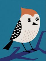 Картина по номерам Polly Птичка 20х15 см