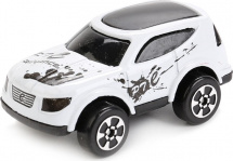 Машинка AutoTime Cartoon Offroad Car, белый