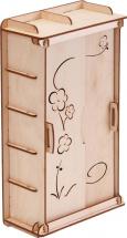 Мебель для кукольного домика Polly Чудо-шкаф