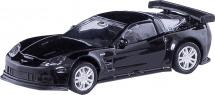 Машинка AutoTime Chevrolet Corvette С6-R, черный