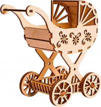 Сборная модель Polly Детская коляска