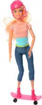 Кукла Defa Lucy на скейтборде