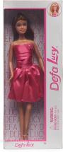 Кукла Defa Lucy Модница в розовом платье