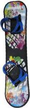 Сноуборд Дартс-Ковров пластиковый с жесткими креплениями