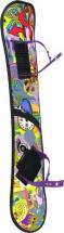 Сноуборд Дартс-Ковров пластиковый с облегченными креплениями