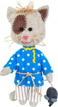 Набор для шитья игрушки Перловка Домовитый кот Василий