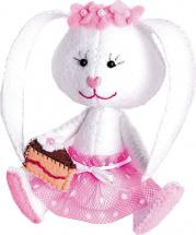 Набор для шитья игрушки Перловка Зайка Сластёна