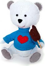 Набор для шитья игрушки Перловка Мишка Лакомка