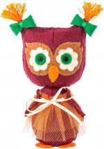 Набор для шитья игрушки Перловка Совушка