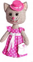 Набор для шитья игрушки Перловка Тётя Кошка