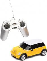 Машина Rastar Mini Cooper радиоуправляемая, желтый