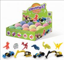 Пластилин шариковый Color Puppy с сюрпризом для мальчиков