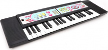 Синтезатор 37 клавиш 2 режима работы, черный
