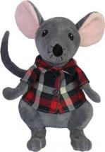 Мягкая игрушка Fluffy Family Мышь в рубашке 20 см