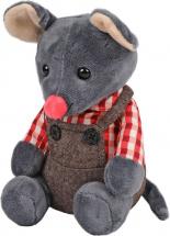 Мягкая игрушка Fluffy Family Мышонок Сэм 18 см