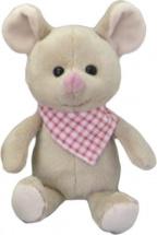 Мягкая игрушка Fluffy Family Мышонок Неженка 16 см