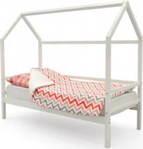 Кровать-домик Svogen, белый