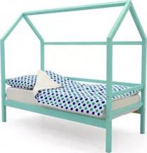 Кровать-домик Svogen, мятный