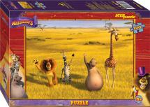 Пазлы Steppuzzle DreamWorks Мадагаскар 3 120 элементов