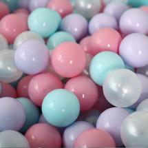 Шарики для сухого бассейна Romana Airball 150 шт, розовый