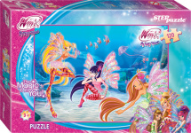 Пазлы Steppuzzle Winx 120 элементов