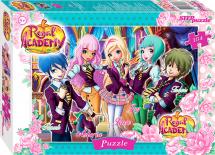 Пазлы Steppuzzle Rainbow. Королевская академия 104 элемента
