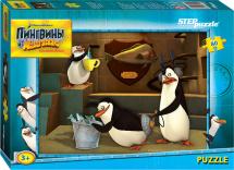 Пазлы Steppuzzle DreamWorks Пингвины из Мадагаскара 80 элементов