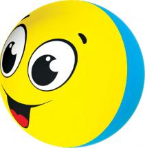 Музыкальная игрушка Азбукварик Веселый смайлик, желтый