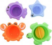 Игрушки для ванной Frog and Croc Веселая компания