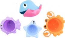 Игрушки для ванной Frog and Croc Морские обитатели