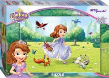 Пазлы Steppuzzle Disney Принцесса София 104 элемента