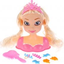 Манекен для создания причесок Карапуз Принцесса