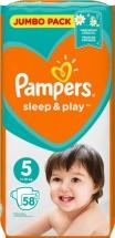 Подгузники Pampers Sleep&Play 5 (11-16 кг) 58 шт