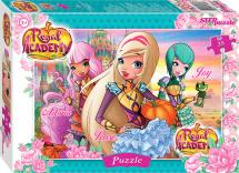 Пазлы Steppuzzle Rainbow. Королевская академия 35 элементов