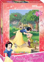 Пазлы Steppuzzle Disney Белоснежка-2 35 элементов