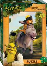 Пазлы Steppuzzle DreamWorks Кот в сапогах 60 элементов