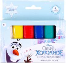 Набор для лепки Disney Олаф и Холодное приключение 6 цветов