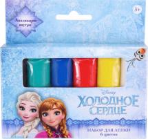 Набор для лепки Disney Холодное приключение 6 цветов