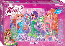 Пазлы Steppuzzle Rainbow. Winx-2 60 элементов