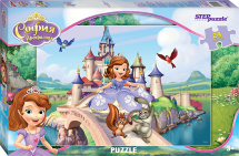 Макси-пазлы Steppuzle Disney. Принцесса София 24 элемента