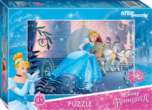 Пазлы Steppuzzle Disney. Золушка-2 35 элементов