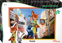 Пазлы Steppuzzle Disney. Зверополис 160 элементов