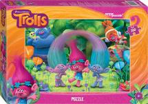 Пазлы Steppuzzle DreamWorks. Trolls 260 элементов