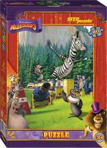 Пазлы Steppuzzle DreamWorks Мадагаскар-3 80 элементов