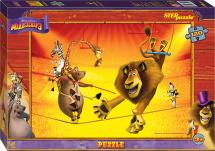 Пазлы Steppuzzle DreamWorks Мадагаскар-3 120 элементов